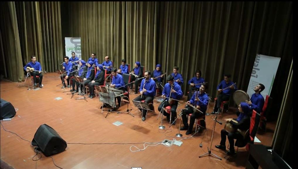 ارکستر ایرانی به سرپرستی استاد حمیدرضا جوان