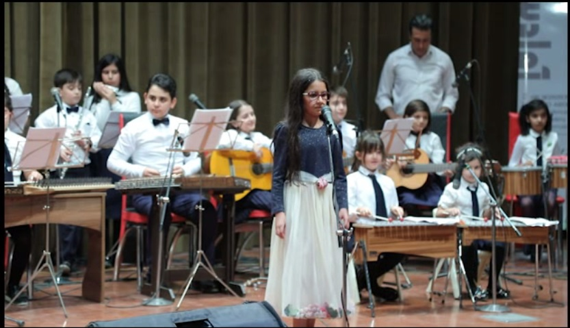 اجرای ارکستر کودک